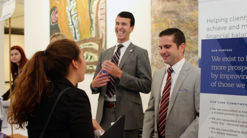 Networking Event Allows Students To Rub Elbows With Accounting & Finance Pros