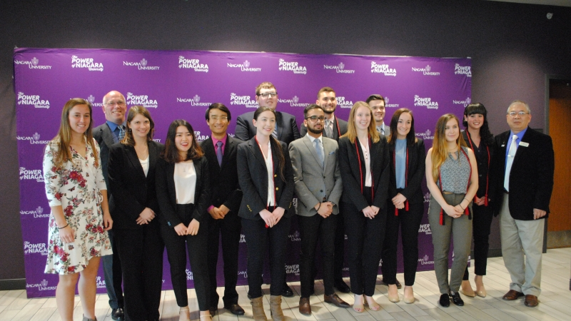 NU Business Students Chosen for Trio of Honor Societies
